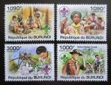 Poštovní známky Burundi 2011 Skauti Mi# 2206-09 Kat 9.50€