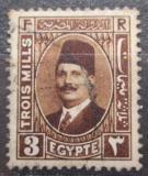 Poštovní známka Egypt 1927 Král Fuad Mi# 121