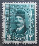 Poštovní známka Egypt 1931 Král Fuad Mi# 122