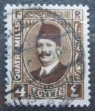 Poštovní známka Egypt 1931 Král Fuad Mi# 124