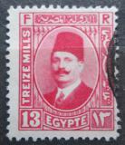 Poštovní známka Egypt 1927 Král Fuad Mi# 128