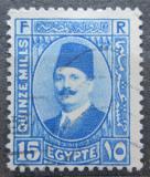Poštovní známka Egypt 1927 Král Fuad Mi# 129 a