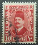 Poštovní známka Egypt 1929 Král Fuad Mi# 127