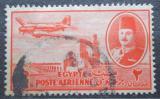 Poštovní známka Egypt 1947 Letadlo nad přehradou Mi# 305