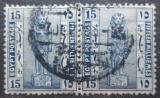 Poštovní známka Egypt 1922 Socha Ramsese II. pár Mi# 60