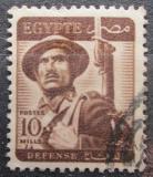 Poštovní známka Egypt 1953 Voják Mi# 400