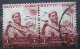Poštovní známky Egypt 1954 Farmář pár Mi# 474