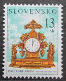 Poštovní známka Slovensko 2001 Staré hodiny Mi# 385