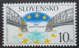 Poštovní známka Slovensko 2001 Most Štúrovo - Ostrihom Mi# 409