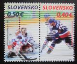 Poštovní známky Slovensko 2011 MS v hokeji Mi# 657-58