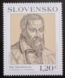Poštovní známka Slovensko 2011 Umění, Jan Sambucus Mi# 672