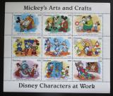 Poštovní známky Guyana 1995 Disney, Mickey Mouse Mi# 5063-71