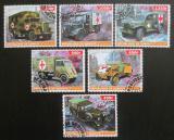 Poštovní známka Džibutsko 2015 Auta Červeného kříže Mi# N/N
