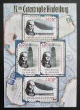 Poštovní známky Burundi 2012 Zkáza Hindenburgu DELUXE Mi# 2391,2393 Bogen Kat 10€