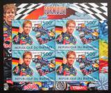 Poštovní známky Burundi 2012 Formule 1 DELUXE Mi# 2470 Bogen Kat 9€