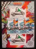 Poštovní známky Burundi 2012 Formule 1 DELUXE Mi# 2467-68 Bogen Kat 10€