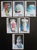 Poštovní známky Guinea-Bissau 2007 Čínská keramika Mi# 3540-45 Kat 11€