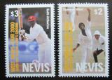 Poštovní známky Nevis 2000 Kriket Mi# 1559-60 Kat 6€