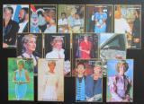 Kompozice NIGER 1997 Princezna Diana - 13 aršíků