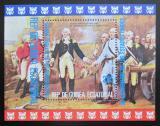 Poštovní známka Rovníková Guinea 1975 Americká revoluce Mi# Block 174 Kat 6€