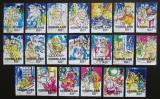 Poštovní známky Nizozemí 2000 Vánoce Mi# 1835-54