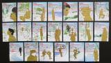 Poštovní známky Nizozemí 2002 Vánoce Mi# 2050-69