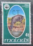 Poštovní známka Malawi 1978 Nyala nížinná, WWF Mi# 297