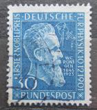 Poštovní známka Německo 1951 W. K. Roentgen Mi# 147 Kat 20€
