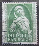 Poštovní známka Německo 1952 Norimberská madona Mi# 151 Kat 20€
