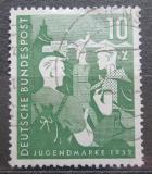 Poštovní známka Německo 1952 Mládež a hostel Mi# 153 Kat 23€
