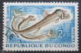 Poštovní známka Kongo 1961 Chauliodus sloani Mi# 15
