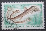 Poštovní známka Kongo 1961 Chauliodus sloani Mi# 14