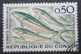 Poštovní známka Kongo 1961 Ryby Mi# 13