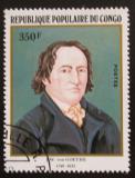 Poštovní známka Kongo 1982 Johann Wolfgang von Goethe Mi# 868