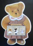 Poštovní známky Maledivy 2002 Plyšový medvídek, 100. výročí Mi# 4035-37 Kat 10€
