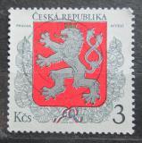 Poštovní známka Česká republika 1993 Státní znak Mi# 1