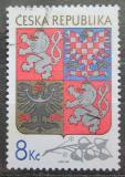 Poštovní známka Česká republika 1993 Státní znak Mi# 10