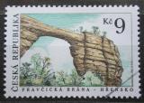 Poštovní známka Česká republika 1995 Pravčická brána Mi# 79