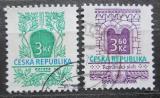 Poštovní známky Česká republika 1995 Secesní a románský sloh Mi# 94-95