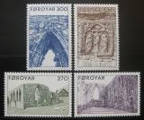 Poštovní známky Faerské ostrovy 1988 Ruiny dómu u Kirkjubour Mi# 175-78 Kat 6€