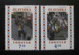Poštovní známky Faerské ostrovy 1998 Evropa CEPT Mi# 338-39
