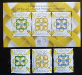 Poštovní známky Jamajka 2005 Evropa CEPT Mi# 1081-83, Block 56 Kat 17.50€