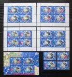 Poštovní známky Samoa 2005 Evropa CEPT, luxusní kompletní set Kat 90€