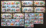 Poštovní známky Guinea 2006 Evropa CEPT, 50. výročí, luxusní set KOMPLET Kat 129€