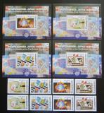 Poštovní známky Gruzie 2006 Evropa CEPT Mi# 507-10 A-B + Block 35-38 Kat 18€