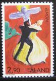 Poštovní známka Alandy, Finsko 1997 Evropa CEPT Mi# 128