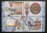 Poštovní známky Alandy, Finsko 1999 Lidové umění Mi# 149-52