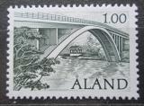 Poštovní známka Alandy, Finsko 1987 Most Färjsund Mi# 24