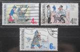 Poštovní známky Česká republika 1997 Dobrý voják Švejk Mi# 153-55