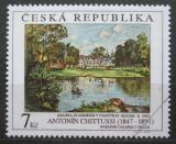 Poštovní známka Česká republika 1997 Umění, Antonin Chittussi Mi# 161